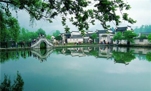 【春满徽州】兴隆梅园、卖花渔村、空中茶园、黎阳老街