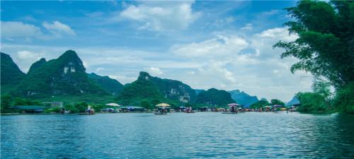 【漓江之歌】桂林漓江、银子岩、遇龙河、古东瀑布、象鼻山五日游
