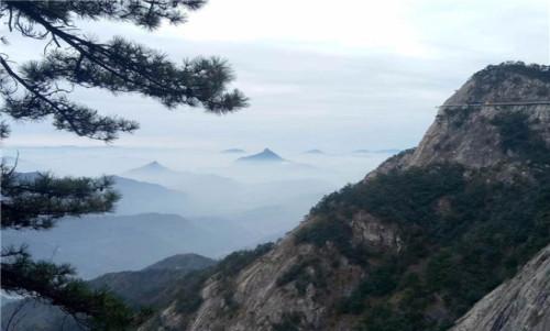 【特价】岳西明堂山、高空玻璃栈道、飞天玻璃桥1日游