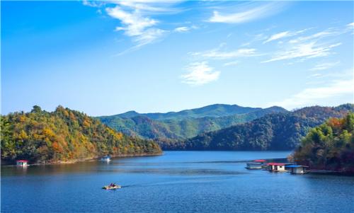 宁国夏霖九天银瀑、龙泉洞、储家滩、青龙湾森林公园2日游