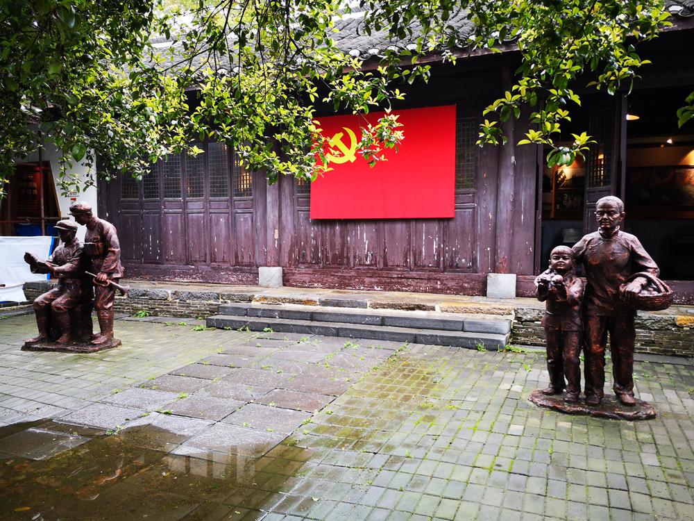渡江战役总前委旧址纪念馆_风景图片